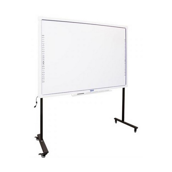 Interactive Whiteboard + Stand With Wheels Iggual IGG314388+314364 82