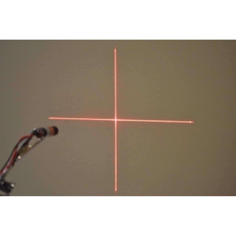 цена на NETWORK Laser Diode Module Focusable Lens Cross Line 650nm 5mW 3 ~ 6V cable135mm