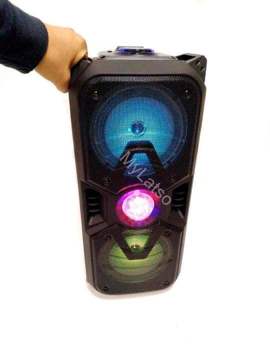 6501 sistema de alto-falante usb bluetooth combo alto-falante amplificador som subwoofer rua mala microfone alto falantes fm