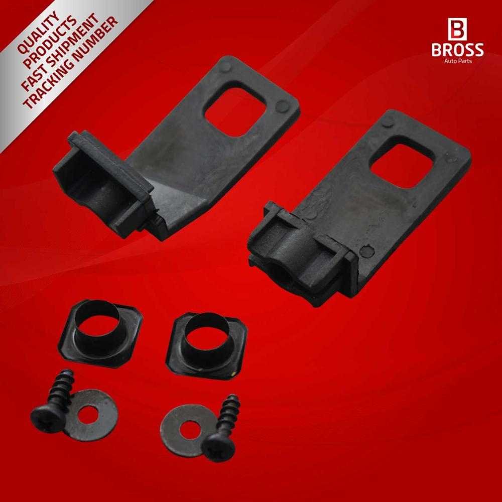 Bross BHL502 Headlight Housing Repair Kit Upper Tabs Right Side: 1J0 998 226 For Golf MK4 1997-2006