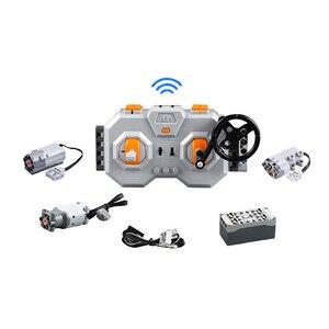 Image 1 - CADA Technic Remote Control Racing Sports Car Bricks Speed Champions City MOC Building Block 2.4G Power Function Motors
