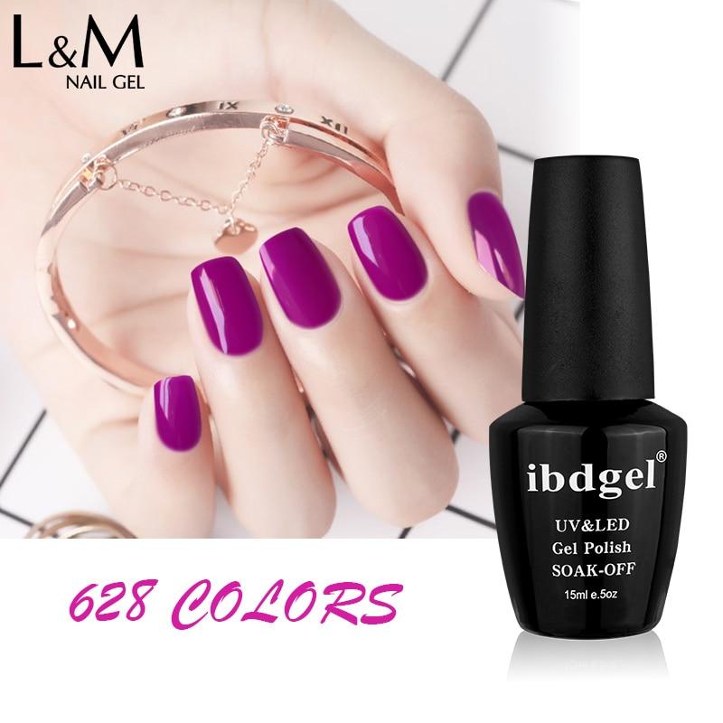 24 Pcs Free Shipping Gel Polish LED UV Nail color gel foundation Gel varnish Good Quality 15ml hot sale gelpolish