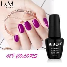24 Pcs Freies Verschiffen Gel Polnisch LED UV Nagel farbe gel foundation Gel lack Gute Qualität 15ml heißer verkauf gelpolish