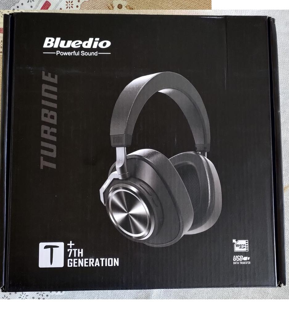 Bluedio T7 Bluetooth Headphones User defined Active Noise Cancelling Wireless Headset for phones and music with face recognition-in Phone Earphones & Headphones from Consumer Electronics on AliExpress