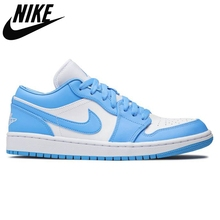 Basketball-Shoes REVERSE Air-Jordan DIOR Retro Nike Low-Sports Women UNC BRED 1-Low Top-Quality