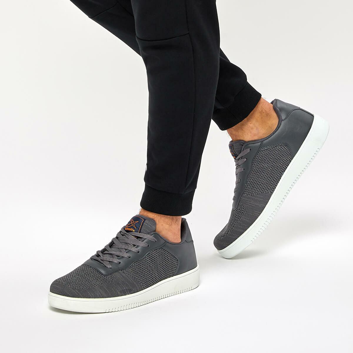 FLO PIN M Gray Men 'S Sneaker Shoes KINETIX