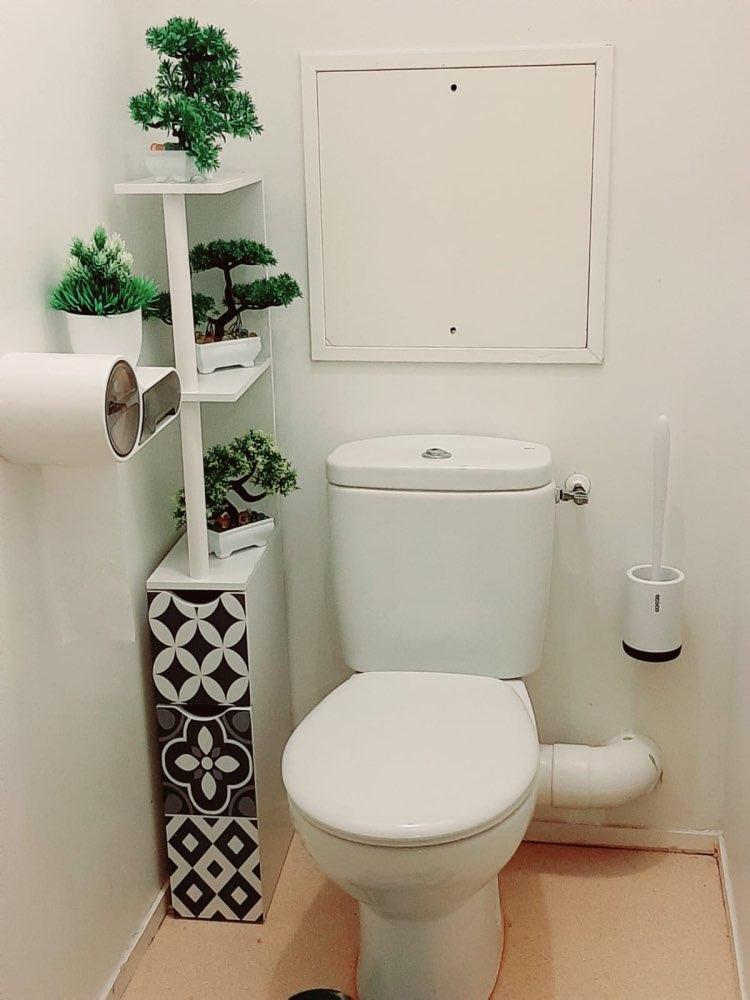 Modern Hygienic Toilet Brush photo review