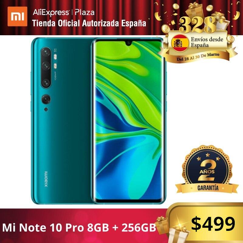Mi Note 10 PRO (256GB ROM con 8GB RAM   Cámara 108 MP   Android  Nuevo  Móvil)|Cellphones| |  - title=