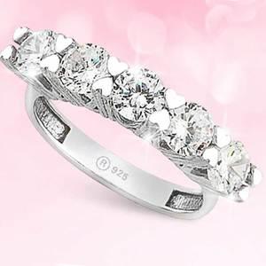925 пробы Серебряное кольцо Dibs модель 11