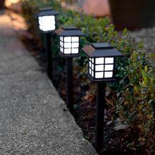 Pratik Sokak Lamba Tasarımlı güneş Bahçe Lambası