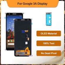 5.6 Inch OLED LCD Display For Google Pixel 3A  G020A, G020E, G020B Touch Screen Digitizer Full Front Assembly Replacement