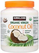 Kirland – huile de noix de coco vierge 2,28 naturelle, biologique, pressée à froid, pour la cuisine, 100% kg
