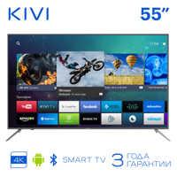 """TV de 55 """"KIVI 55U600GR 4K UHD Smart TV HDR Android 5055 televisión en pulgadas"""