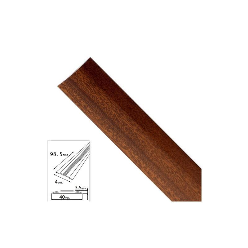 Flashing Adhesive For Carpets Aluminum Sapelli 98,5 Cm.