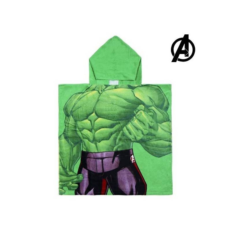 Strikeout-hooded Towel Hulk The Avengers 74157