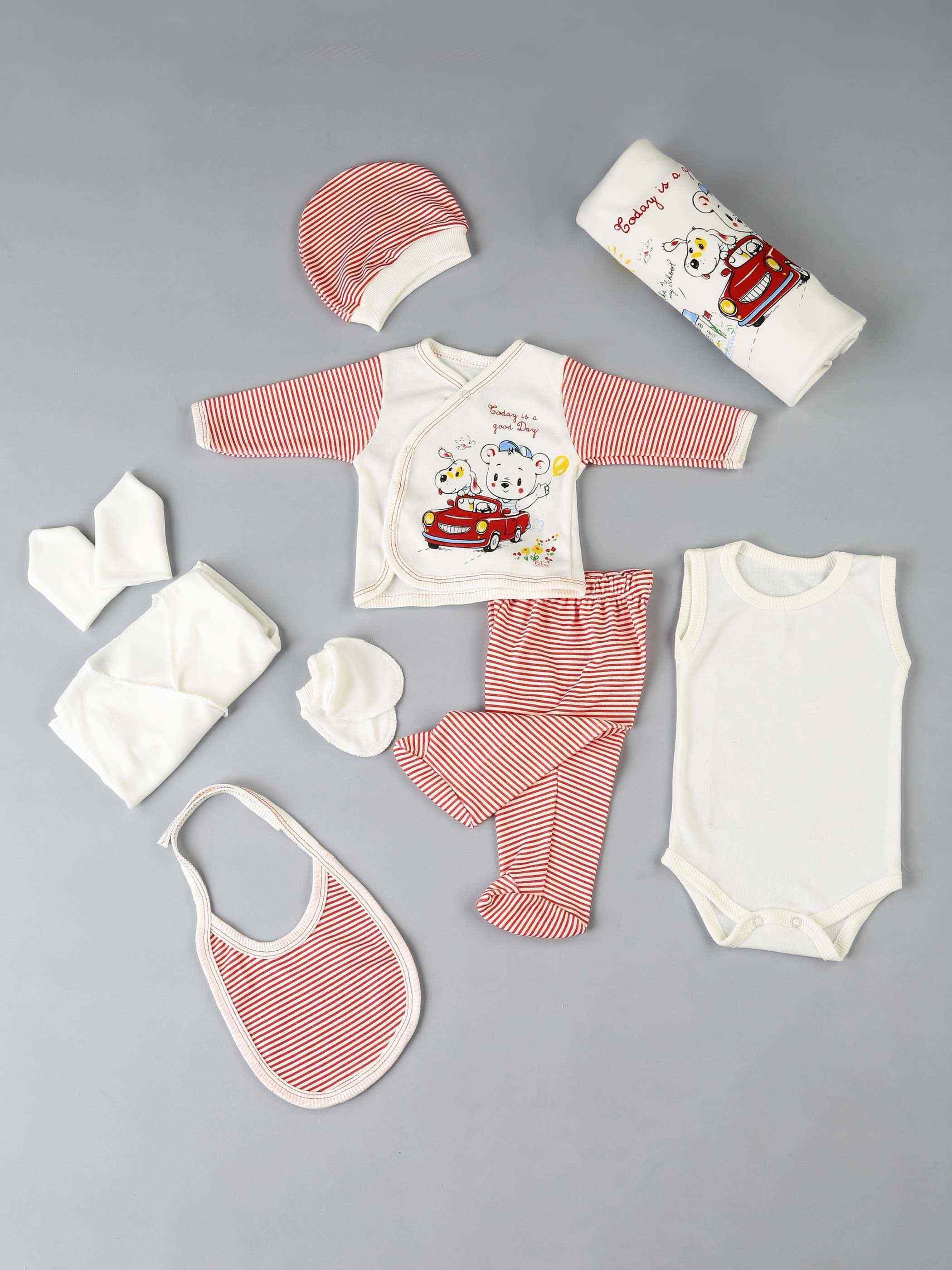 Dziewczynka noworodek księżniczka chłopiec dżentelmen niemowlęta 10 sztuk ubrania bawełniane codzienne letnie antyalergiczne stroje odzieżowe