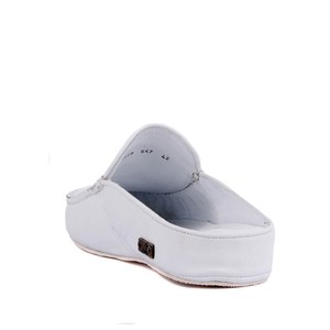 Image 4 - Sail Lakers Genuine Leather Men Slippers Rubber Soled Outdoor Slipper Flat Slippers Slip On Fashion Luxury Loafers zapatos de mujer туфли женские обувь женская