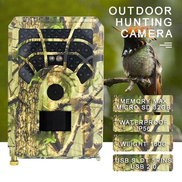 PR-300A/PR-300A WIFI HD 1080p Hunting Camera Photo Trap 5MP Wildlife Trail Night Vision 120 Degree Video Cam Scouting Game