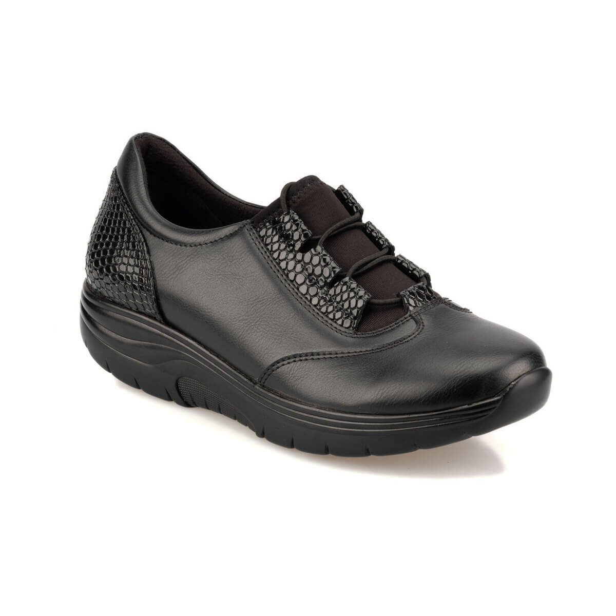 FLO TRV920060 Black Women 'S Sneaker Shoes Travel Soft