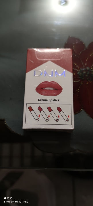 4 Colors Matte Lipstick Lipstick Set Lip Tint Cosmetics Lip Gloss Makeup Waterproof Maquillaje Long Lasting Make Up Pomade TSLM3 photo review