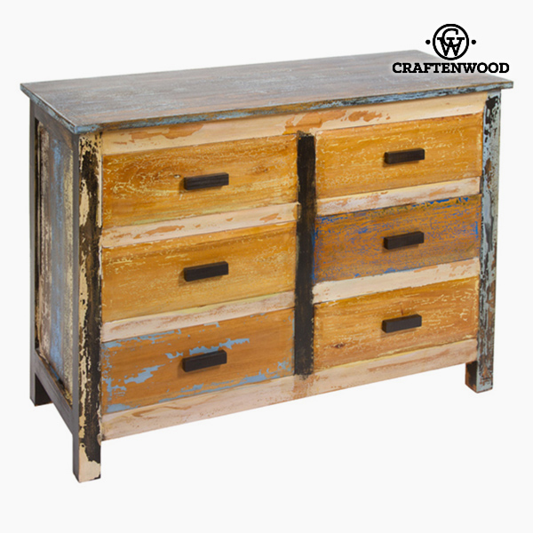 Chest Of Drawers Wood (110 X 45 X 81 Cm) - Vintage Collection