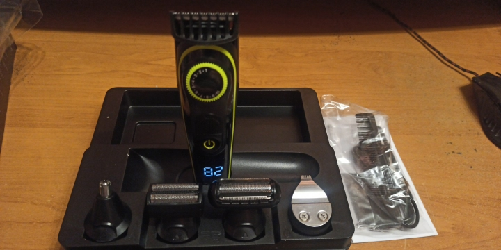 Kemei All-in-one Professional Electric Hair Trimmer photo review