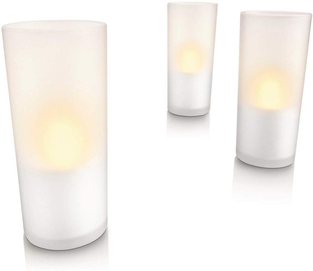Philips Imageo veilleuses LED Rechargeable-blanc, lot de 3