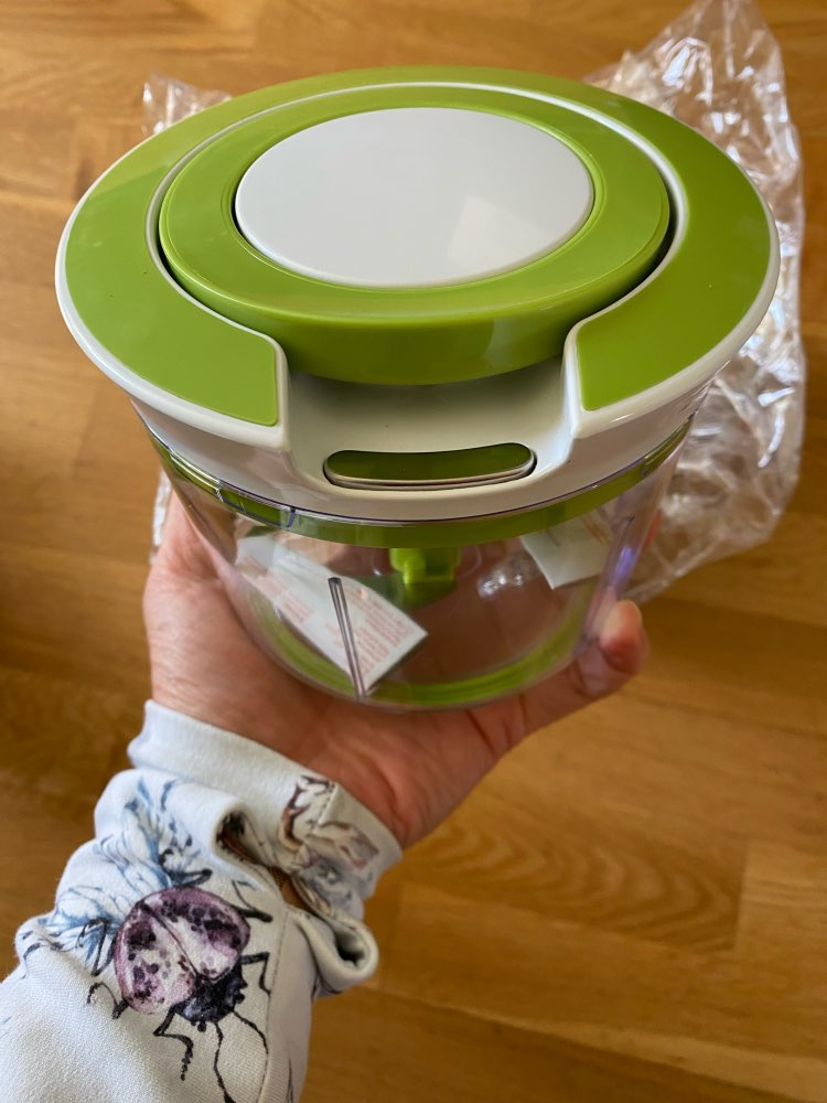 Manual Quick Pull String Food Spiral Slicer photo review