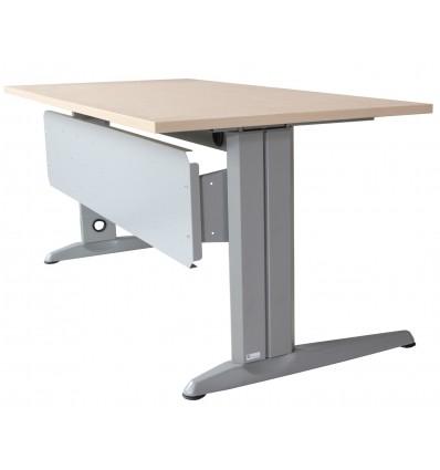 SKIRT METALLIC GRAY FOR OFFICE TABLE SERIES METAL MEASUREMENT 140 CM