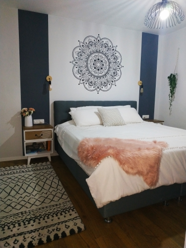 -- mandala pintura parede