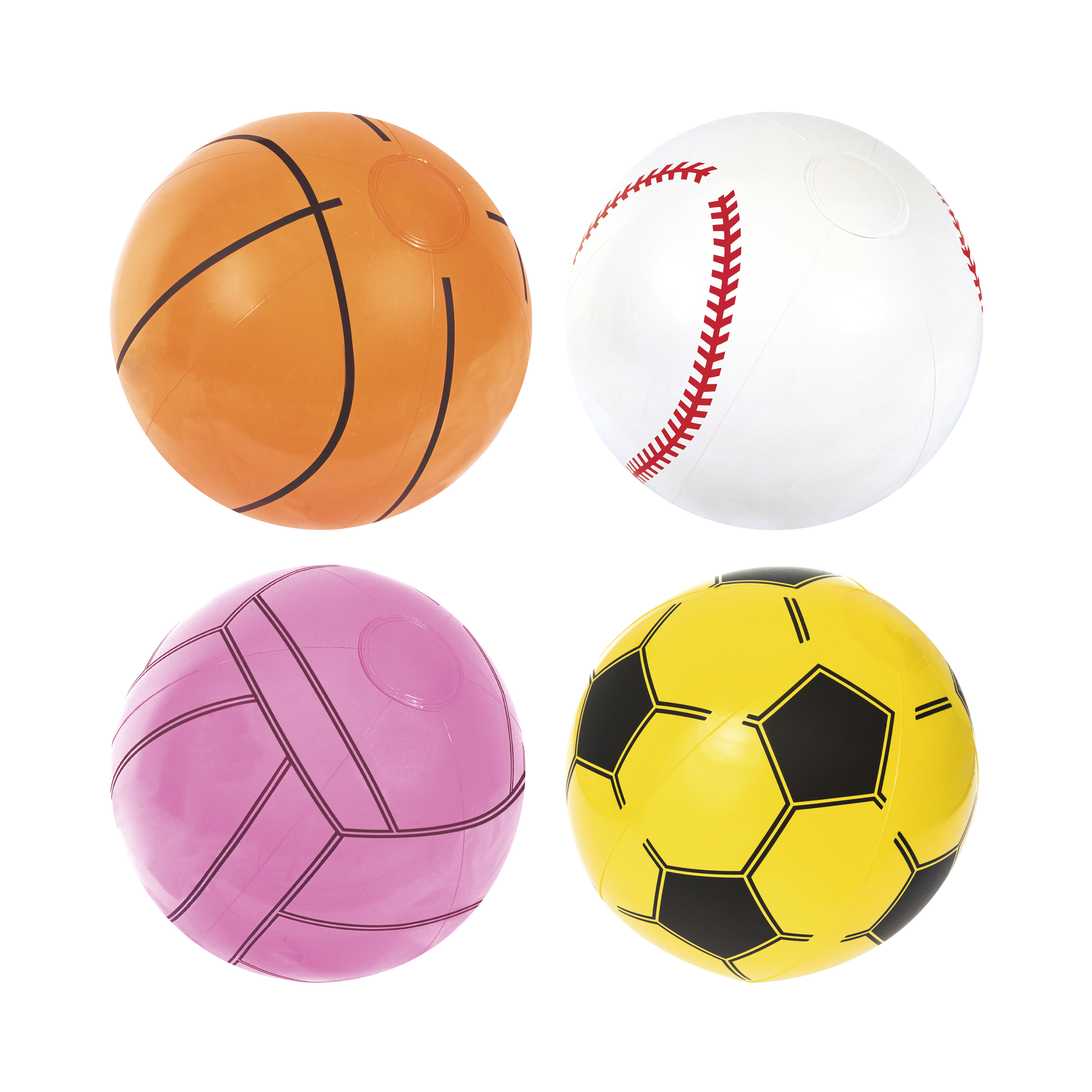 Ball Beach 41 Cm, 2 +, For Sports, Bestway, Item No. 31004