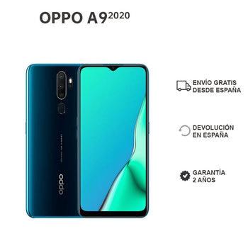 Перейти на Алиэкспресс и купить OPPO A9 2020 4GB/128GB, смартфон, 6,5 дюйм, HD +, 5000mAh, android 9 foot + ColorOS 6.0.1, четыре задние камеры, 2 года гарантии