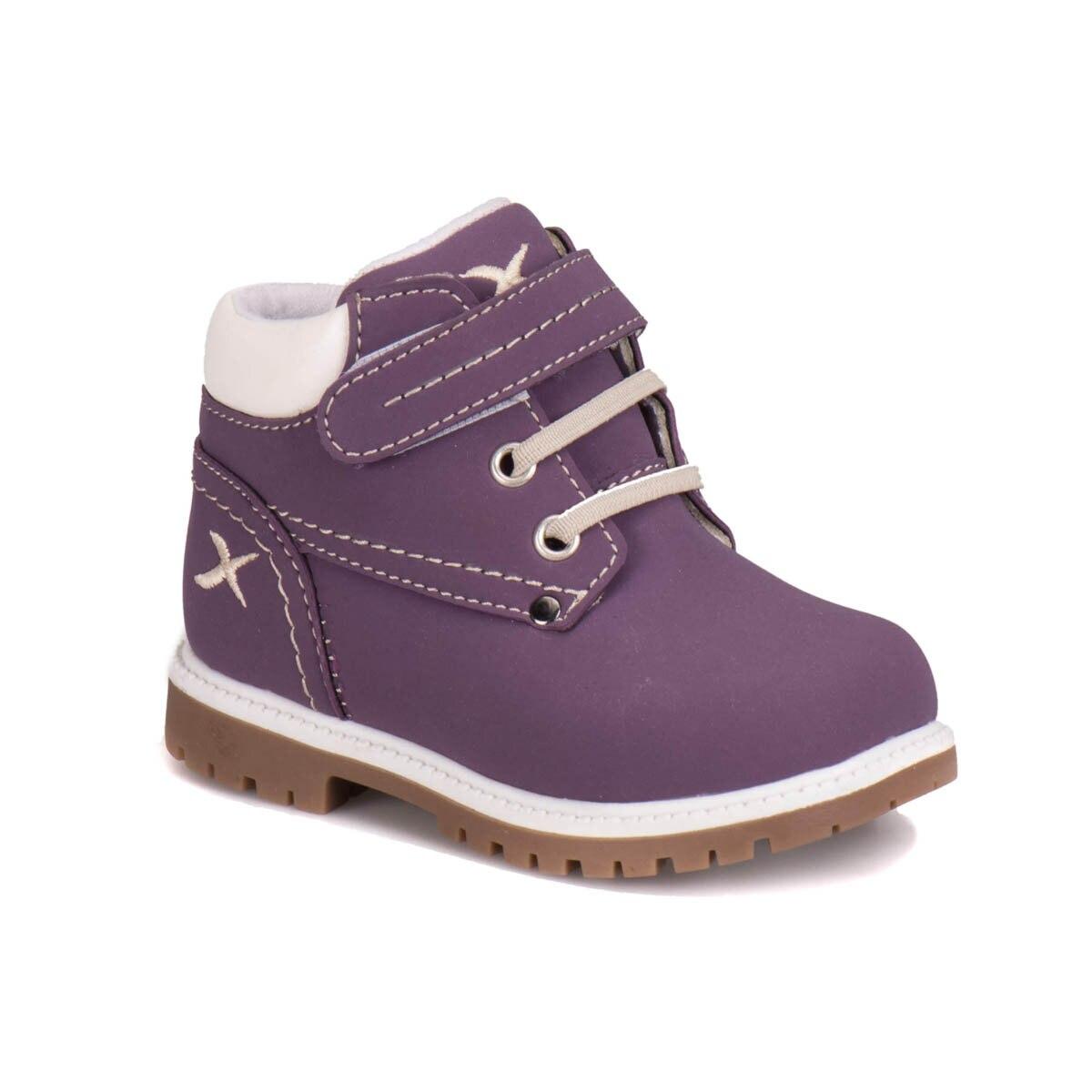 FLO A1317007 Purple Female Child Boots KINETIX