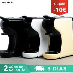 IKOHS POTTS Automatic Coffee Machine Express 4 Colors Capsules of Dolce Gusto Nespresso and for Ground Coffe 0.7L 1450W