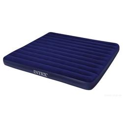 INTEX Кровать надувная Classic downy (Fiber tech) Кинг,1,83м x 2,03м x 25см
