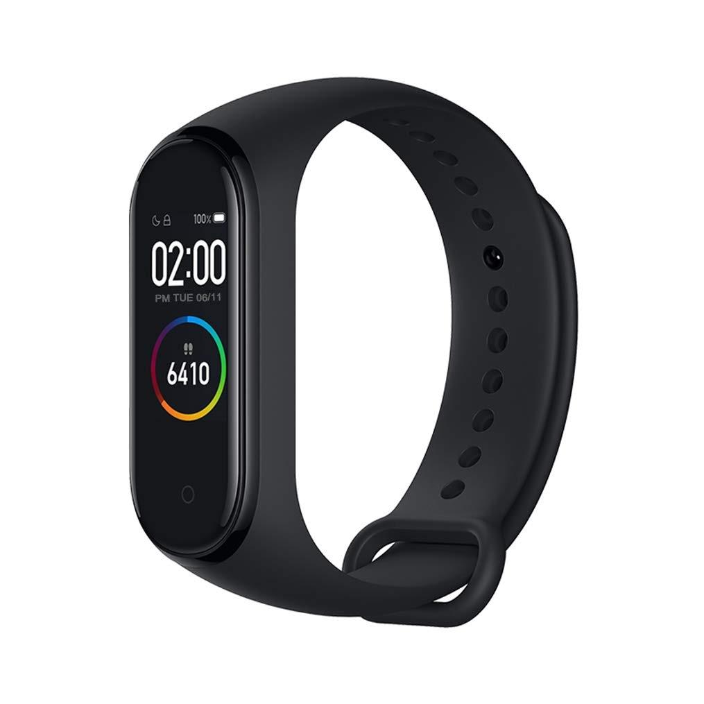 Watch Xiaomi Mi Band 4, Black Color (Black), Chain Bracelet Fitness Smart Heart Rate Monitor 135 MAh Screen