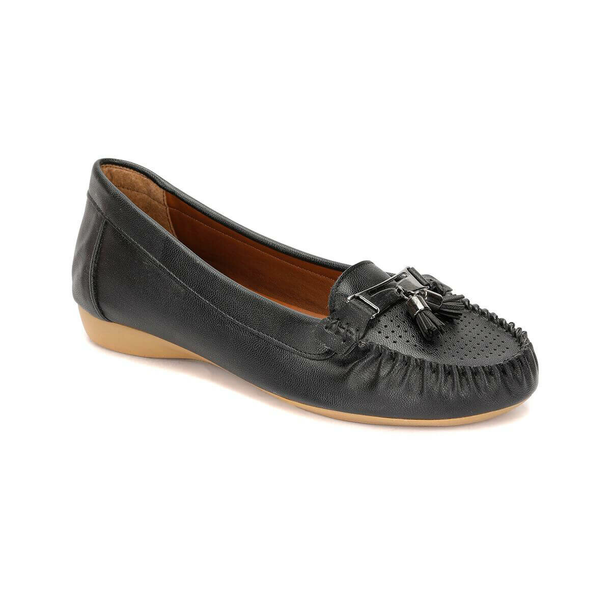 FLO 81. 157232.Z Black Women Loafer Shoes Polaris
