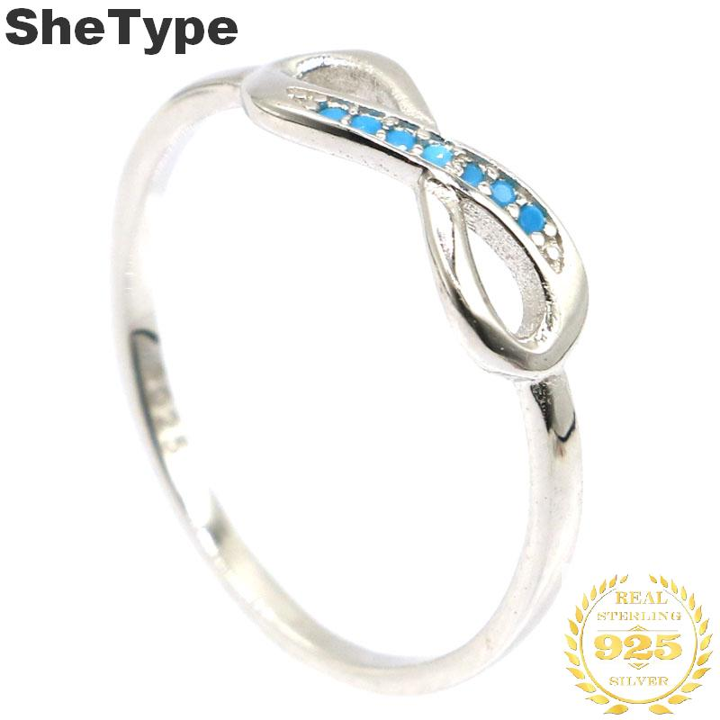 14x5mm 2019 Hot Sell Bow-Knot Created Blue Turquoise Gift For Ladies 925 Solid Sterling Silver Rings