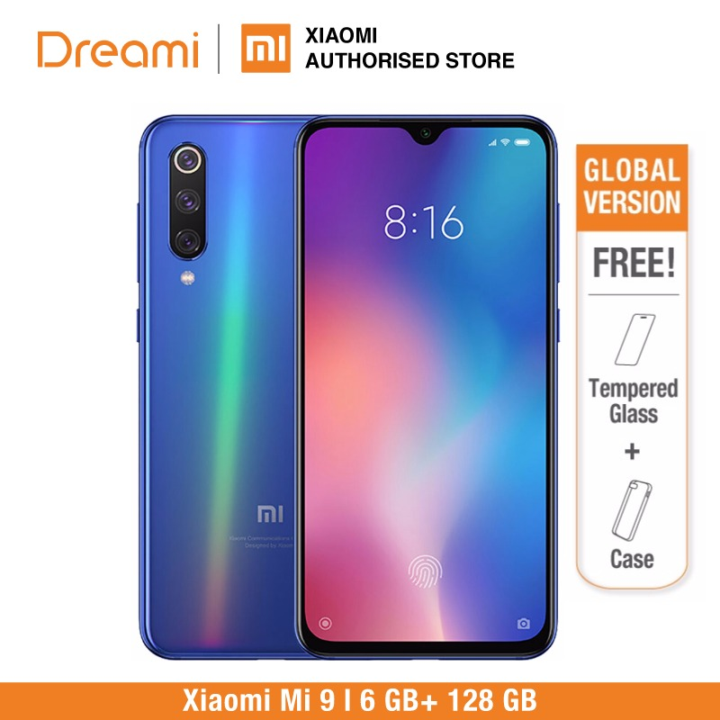 Global Version Xiaomi Mi 9 128GB ROM 6GB RAM (Brand New and Sealed) mi9 128gb READY STOCK