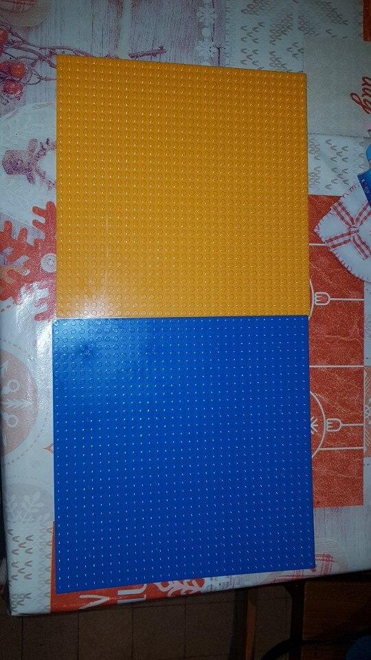 32*32 Dots Classic Base Plates Compatible LegoINGlys Baseplates City Dimensions Building Blocks Construction Toys For Children photo review