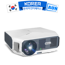 AUN ET10 Series MiNi LED Projector for 3D Video Beamer. 1280x720P, 3800 Lumens, Support 1080P, HD-IN (Optional Android 6.0 )