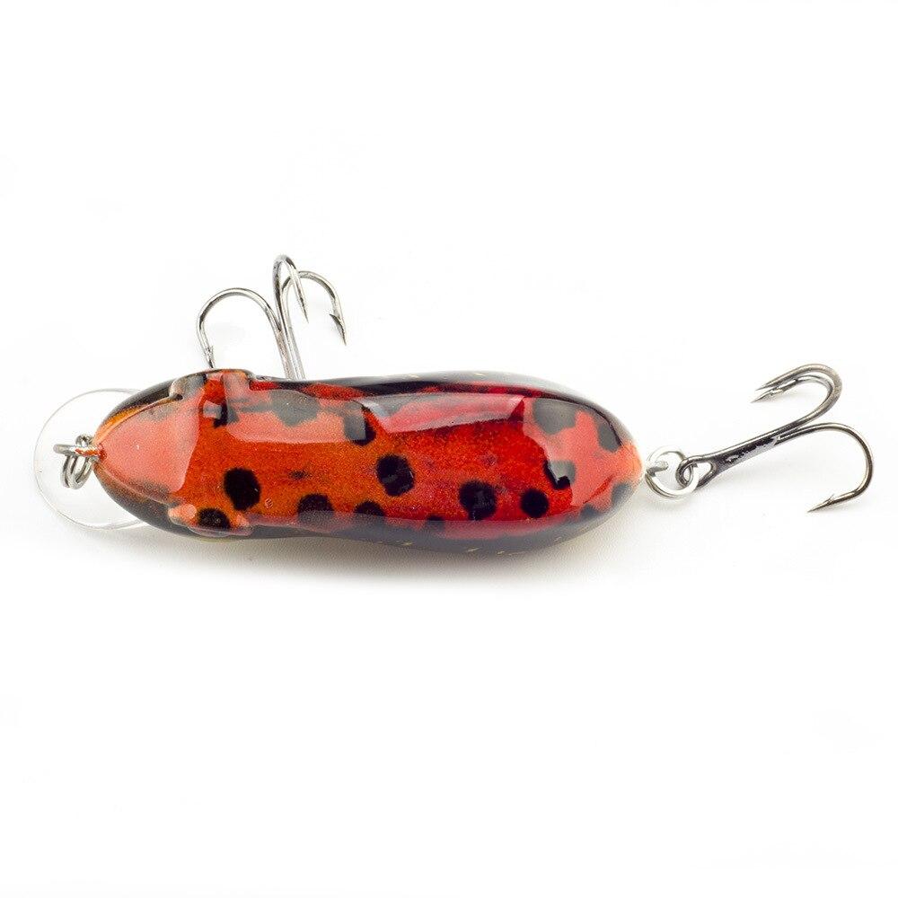 Рыболовные приманки в виде лягушки 6 см 10 г кренкбейт рыболовная