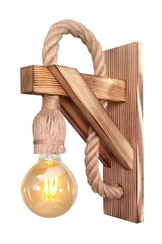 Applique Wood Sconce Wall Lamp Cafe Hotel For Restorant
