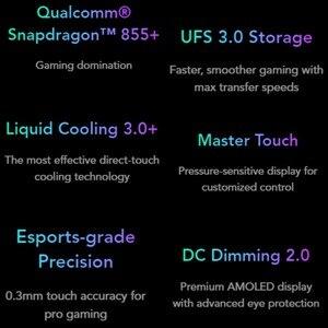 Image 5 - Globalna wersja Xiaomi Black Shark 2 Pro 256GB ROM 12GB RAM telefon do gier (fabrycznie nowy/uszczelniony) blackshark Smartphone Mobile