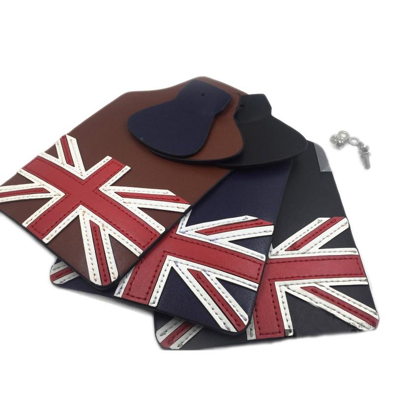 Складной кожаный брызговик для велосипеда brompton, ручной брызговик с британским флагом, Аксессуары для велосипеда крылья      АлиЭкспресс