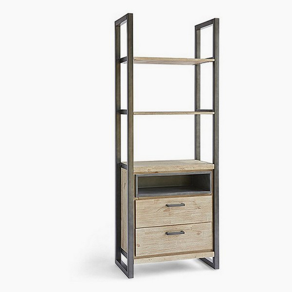 Shelves Acacia (75 X 42 X 200 Cm)