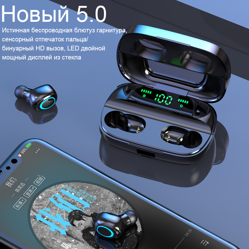 cheapest TW60 TWS Wireless Earphone Bluetooth 5 0 HiFi Stereo Headset touch control Handsfree mini Earbuds Built-in HD Mic for women girl
