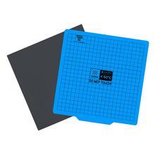 Imprimante 3D base magnétique impression lit bande 220/235/310mm carré lit chauffant autocollant plaque Surface Flex plaque pour Ender 3 saphir pro