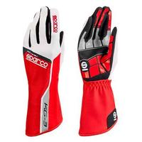 Sparco handschuhe Track Kg 3 Tg. 07 rot -