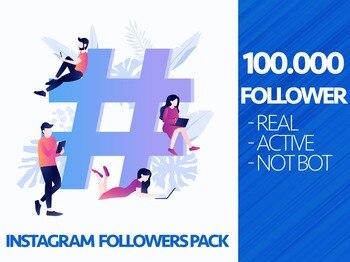 100.000 100K Instagram Followers For Your Profile ig follow 5k Organic Instagram Growth